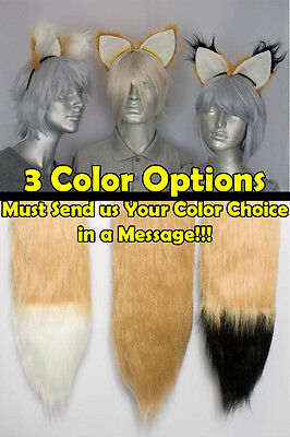 ail and/or Ears Cosplay Accessories (Furry Fox Kostüm)