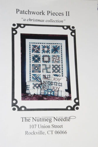 Patchwork Pieces II A Christmas Collection by The Nutmeg Needle