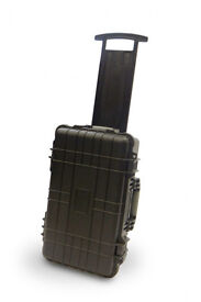 Waterproof Wheeled Rolling Travel Equipment Tool Hard Case Pick and Pluck Foam 515x290x200mm