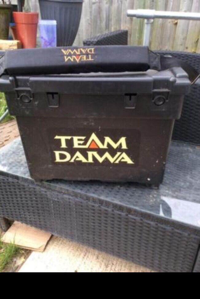Team daiwa seat fishing boxin Oxford, OxfordshireGumtree - Team daiwa seat fishing box in good condition thanks for looking