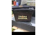 Team daiwa seat fishing box