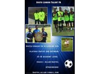 Potential Professional Academy Players Wanted in South London