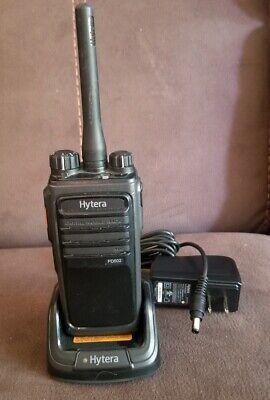 Hytera Pd502iu1 Uhf 403-470 Mhz Digital Portable Radio Latest Firmware