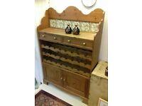 Dresser/wine rack