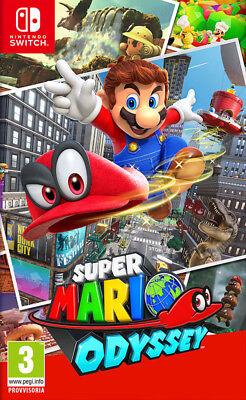 Videogioco Super Mario Odyssey Nuovo Originale Italiano per Nintendo Switch