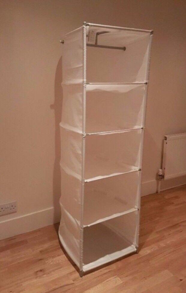 Ikea Wardrobe Portable Lightweight Storage Shelf Rack