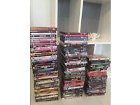 Dvd bundle joblot over 100 DVD's some still in wrapper. All excellent condition