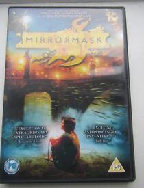 4 set of DVDs Mirrormask Capture the Castle Henry & June City of Lost Children