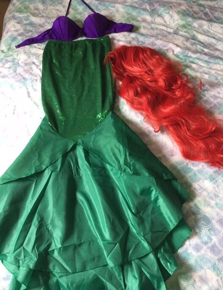 Ariel the little mermaid Halloween adult costume