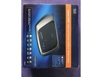 Cisco Linxys X3000 advanced wireless N ADSL 2+ modem router (reduced)