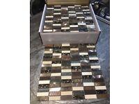 Safari Brown Mosaic Tile 30x30cm