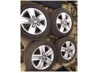 """Vw Transporter T5-6 highlife alloy wheels and tyres 17"""""""