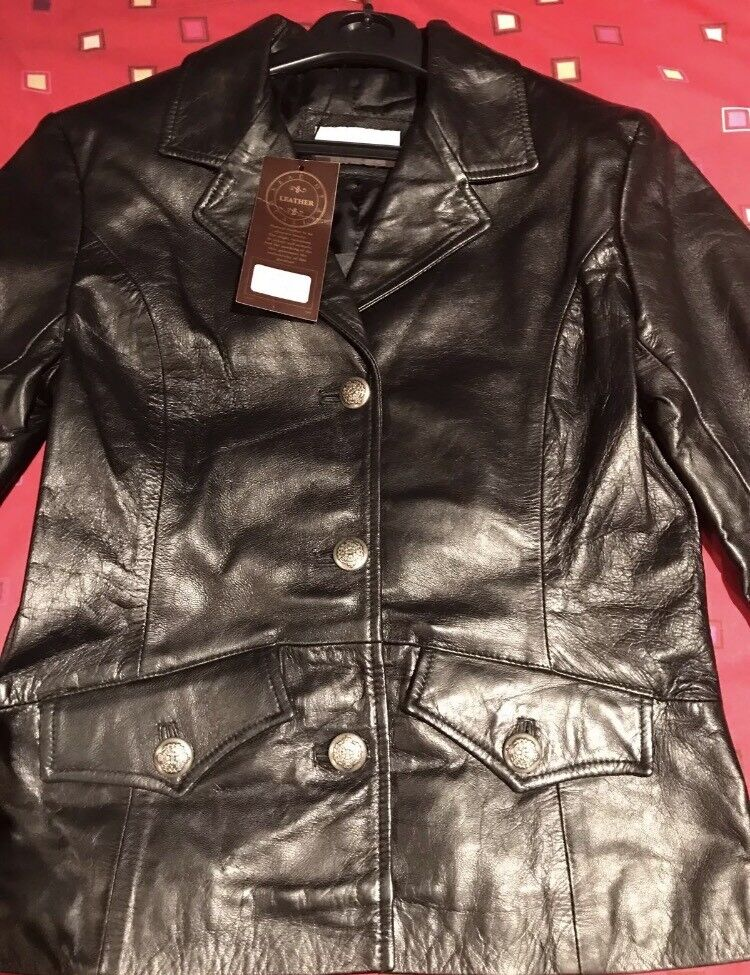 Gavin Brown leather jacket size 10