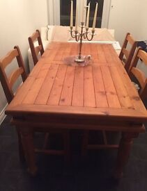 TABLE AND CHAIRS FOR SALE - Norwich area