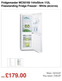 Fridgemaster Fridge freezer for sale
