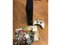 Xbox 360 e with 3 games