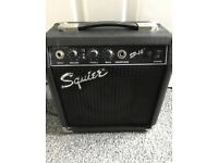 Small Squier Amp
