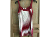 C red stripe river island vest 8