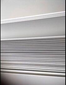 White 50mm Venetian Blinds As new