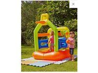 Bouncy castle . Activity centre