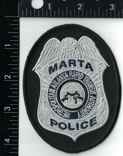 Marta Police patch Georgia GA