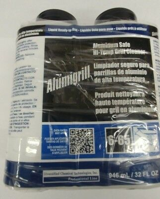 Alumigrill 6-65 Aluminum Safe Hi-temp Grill Cleaner 32oz Liquid - 23 Full