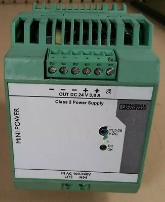 Phoenix Contact Mini-ps-100-240ac24dcc2lps Power Supply  4d