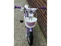 Trek Mystic 16 Girl's Lilac Kids Bike