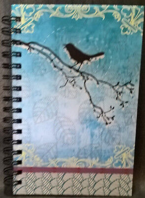 Spiral Journal Bird Medium Lined Both Sides NEW! PICCADILLY 200 PGS. 8.5x5.5