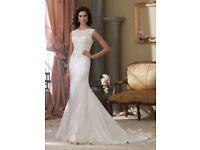 Mori lee 1901 size 16 wedding dress Ivory