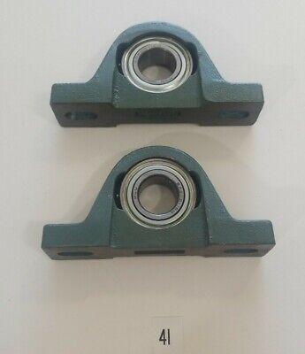 Preowned Lot Of 2 Hytrol P205h Pillow Block Bearing W Sa205-16g Bearings