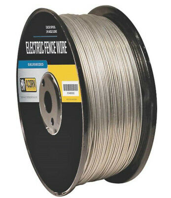 Acorn Efw1714 Galvanized Electric Fence Wire 17 Gauge