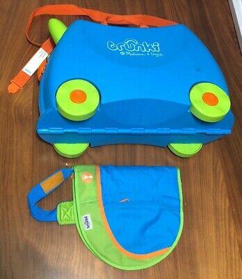 Trunki Melissa & Doug~Kids Ride On Wheeled Luggage/Suitcase & Shoulder -