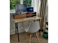 Desk perfect for working from home