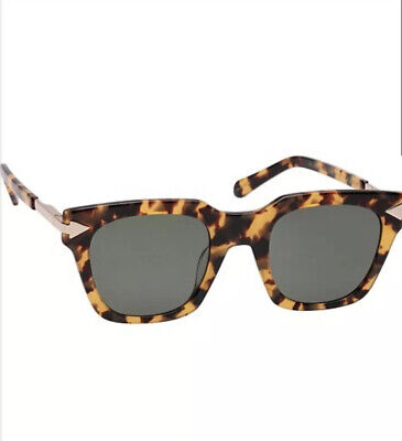 Karen Walker Travis Sunglasses - Monumental - Crazy Tort - BNWT - RRP $260AUD