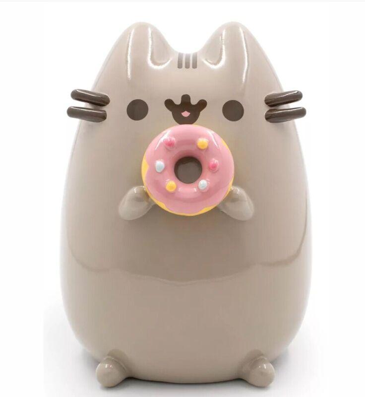 Pusheen The Cat Donut Coin Bank