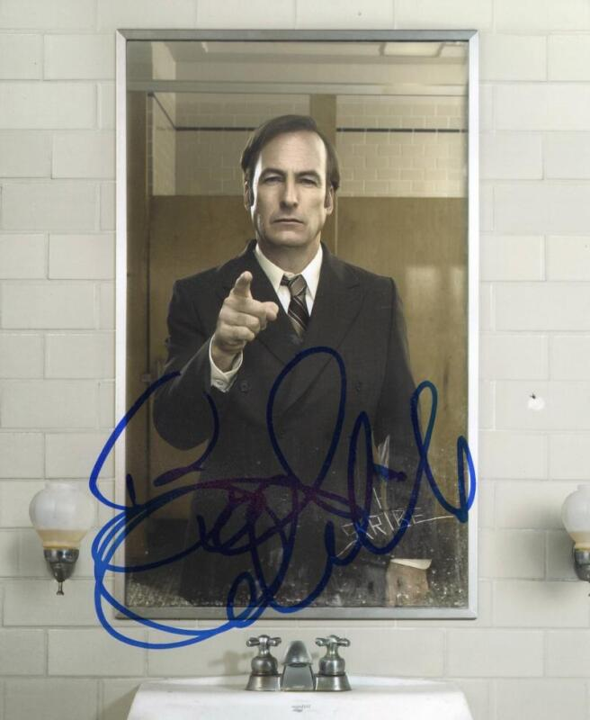 BOB ODENKIRK SIGNED 8X10 PHOTO AUTHENTIC AUTOGRAPH BREAKING BETTER CALL SAUL D