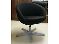 IKEA SKRUVSTA Swivel Chair Black