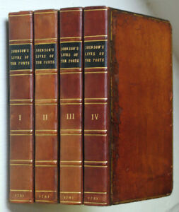 SAMUEL-JOHNSON-LIVES-OF-THE-MOST-EMINENT-ENGLISH-POETS-1781-First-Edition