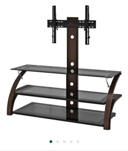 Z-Line  Designs Baltic 3-in-1 TV Stand for 36 - 72 TVs Espresso