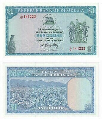 RHODESIA  Dollar Banknote (1979) P.38 - UNC.
