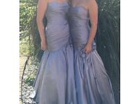 3 Bridesmaid Dresses (or prom) and 1 flower girl dress