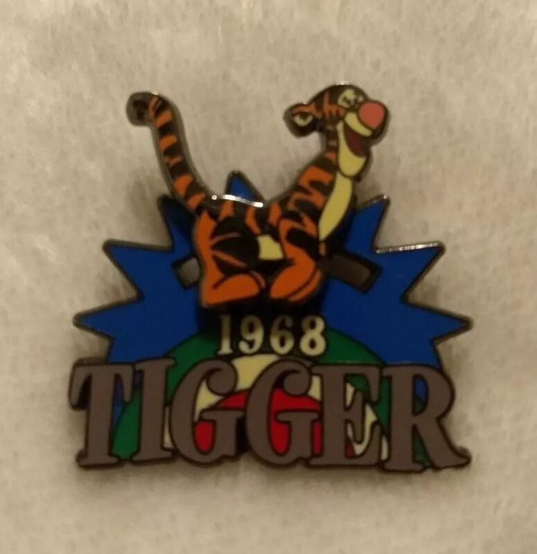 100 Years of Dreams Disney Store Pin #8 Tigger 1968 Rainbow Slider