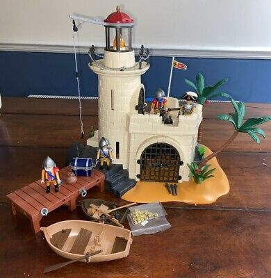 PLAYMOBIL Island Lighthouse Fort 4294 + Extra.