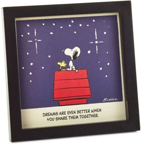 Peanuts Snoopy and Woodstock Together Framed Print