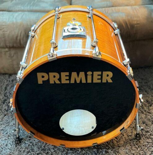 Premier Signia 18x22 Bass Drum. Maple Shell. Topaz Lacquer.