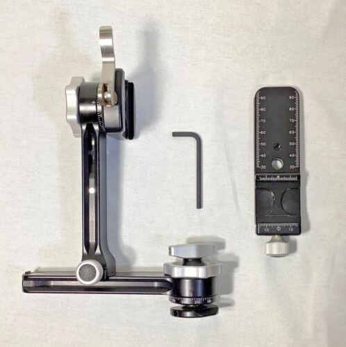 Really Right Stuff PG-01 Compact Pano-Gimbal Head w/ Lever-Release Clamp & more