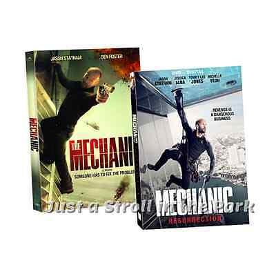 The Mechanic  Complete Jason Statham Movies 1   2 Resurrection Box   Dvd Set S