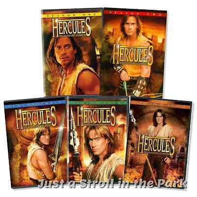 Hercules The Legendary Journeys  Tv Series Complete Seasons 1 5 Dvd Box Sets New