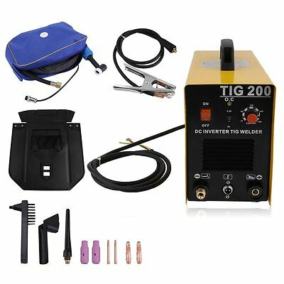 Tig 200 200a Tig Mma Pulse Dc Inverter Welding Machine Stainless Aluminum Welder